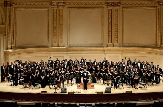 Notre Dame Band at Carnegie Hall