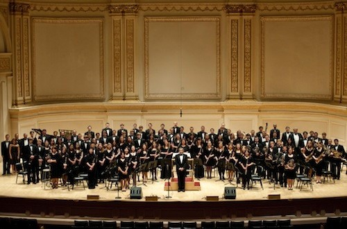ND Concert Band at Carnegie Hall