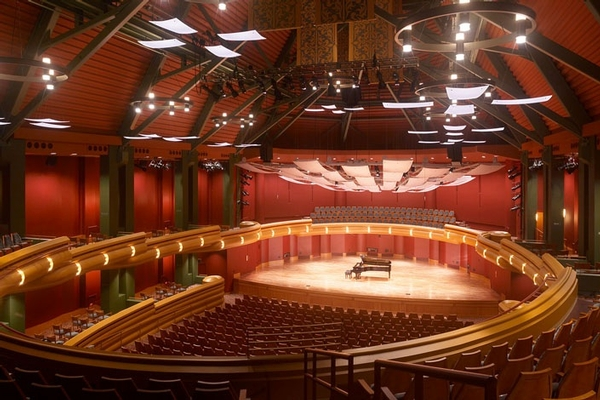 Leighton Concert Hall at DeBartolo Performing Arts Center