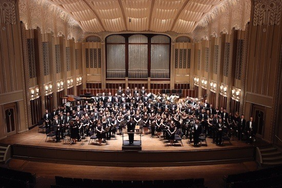Notre Dame Concert Band at Severance Hall