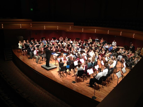 Combined Concert Bands Perform at DeBartolo Performing Arts Center